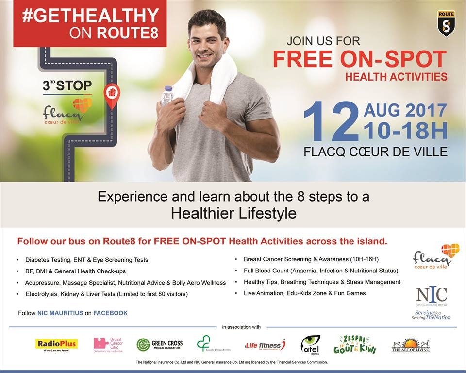 get healthy 12 August